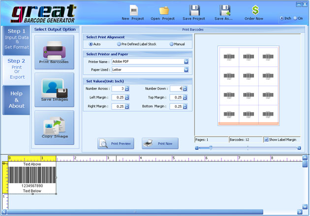 Barcode Label Printing Software 3.0.3.3 full